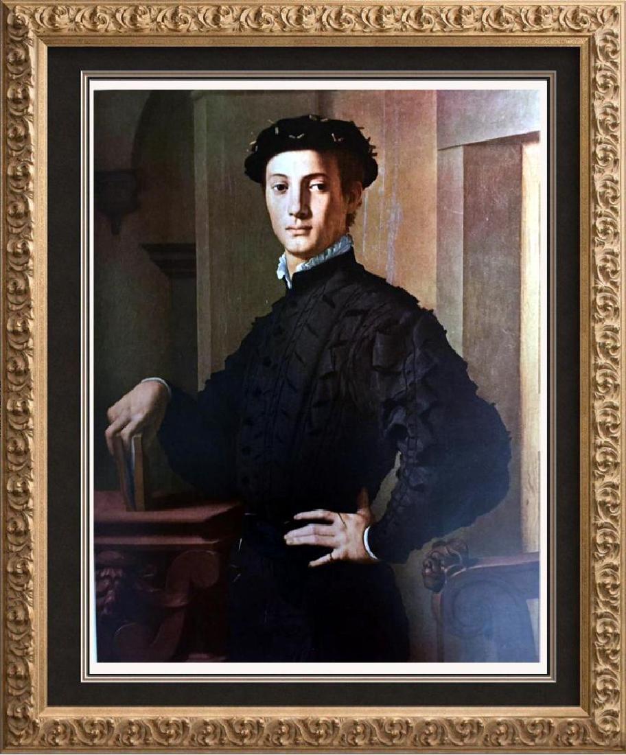 Masterpieces of Italian Paintings Bronzino: Portrait of