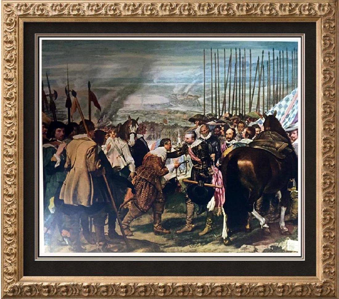 Diego Velazquez The Surrender of Breda (The Lances)