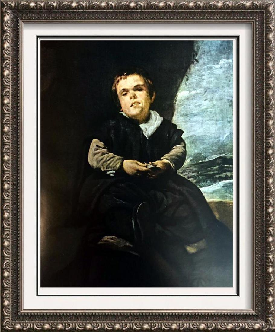 Diego Velazquez Francisco Lezcano c.1638-42 Fine Art