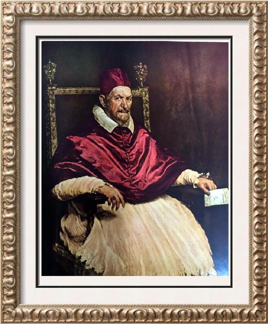Diego Velazquez Pope Innocent X c.1650 Fine Art Print
