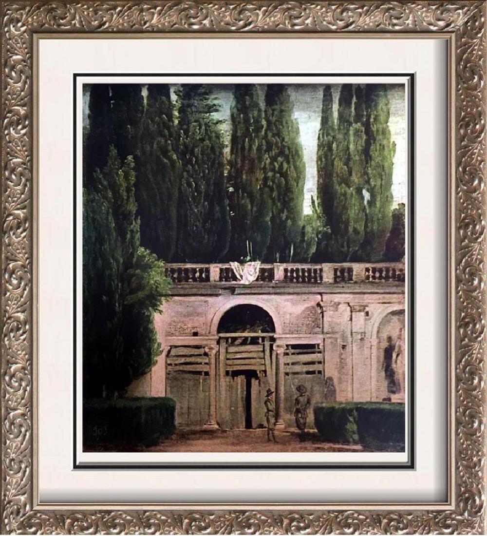 Diego Velazquez A Graden at the Villa Medici, Rome
