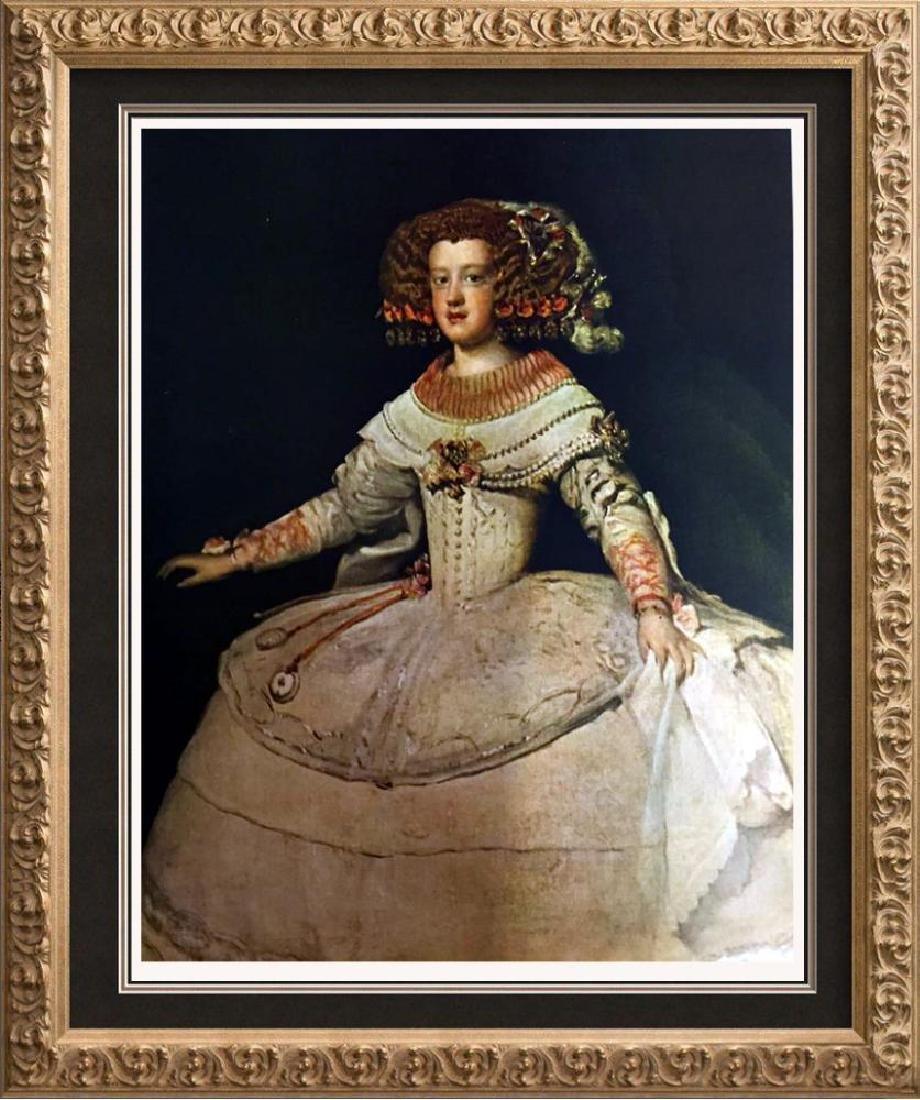 Diego Velazquez The Infanta Maria Teresa c.1651 Fine