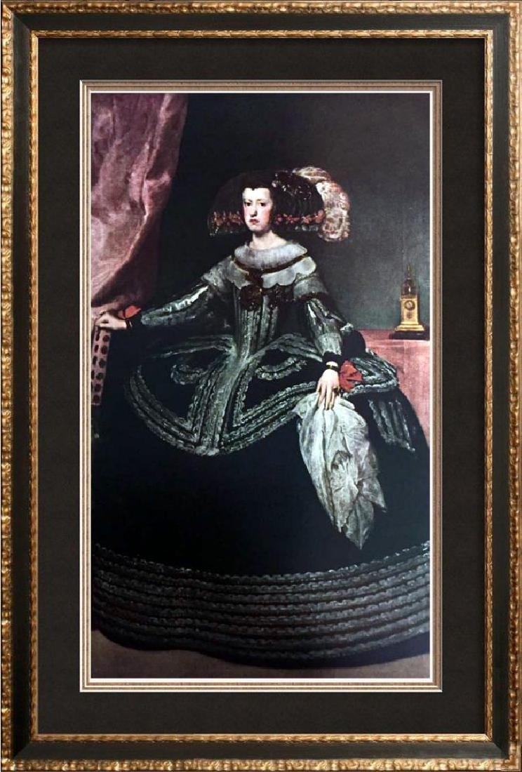 Diego Velazquez Queen Mariana of Austria c.1652-53 Fine