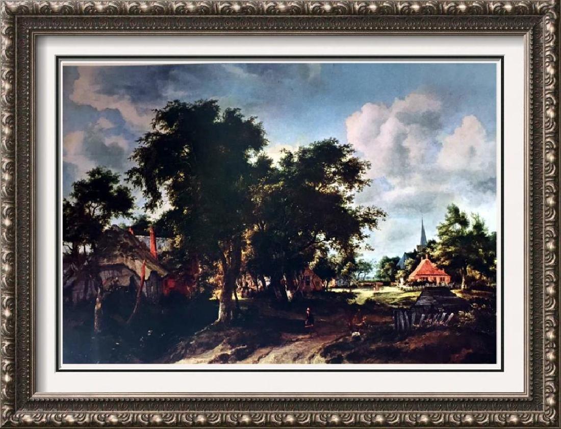 Masterpieces of Dutch Painting Meindert Hobbema:
