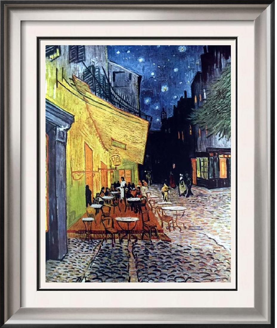 Vincent Van Gogh Sidewalk Café at Night c.1888 Fine Art