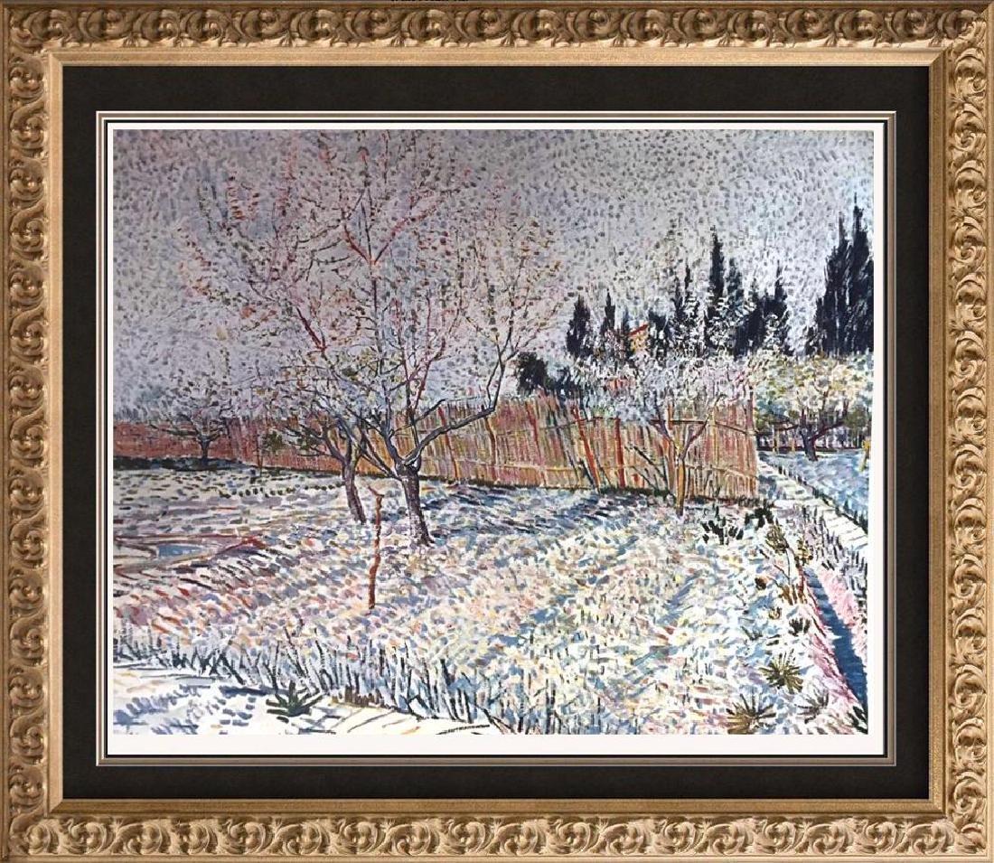 Vincent Van Gogh Orchard, Springtime c.1888 Fine Art