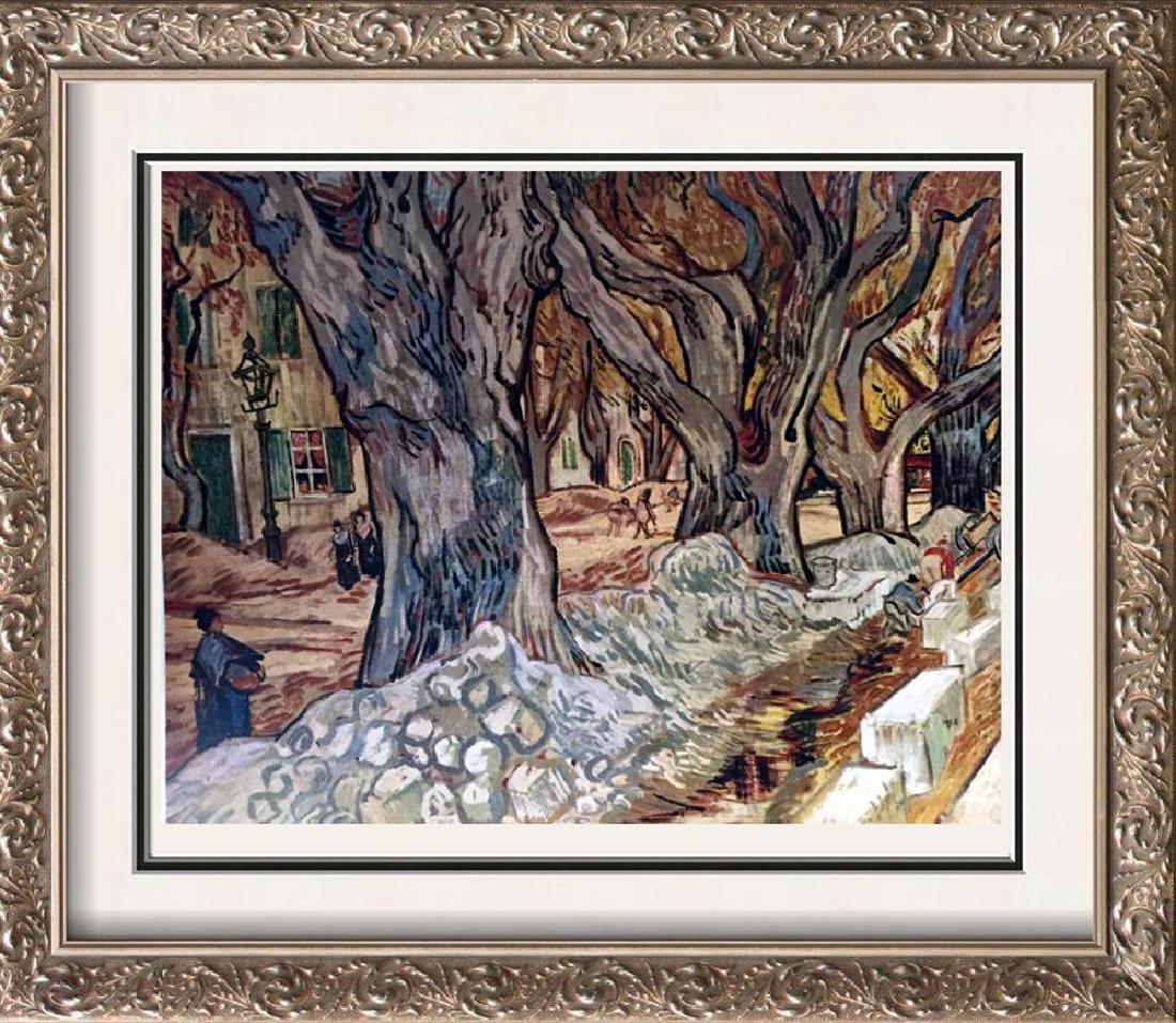Vincent Van Gogh The Road-Menders c.1889 Fine Art Print