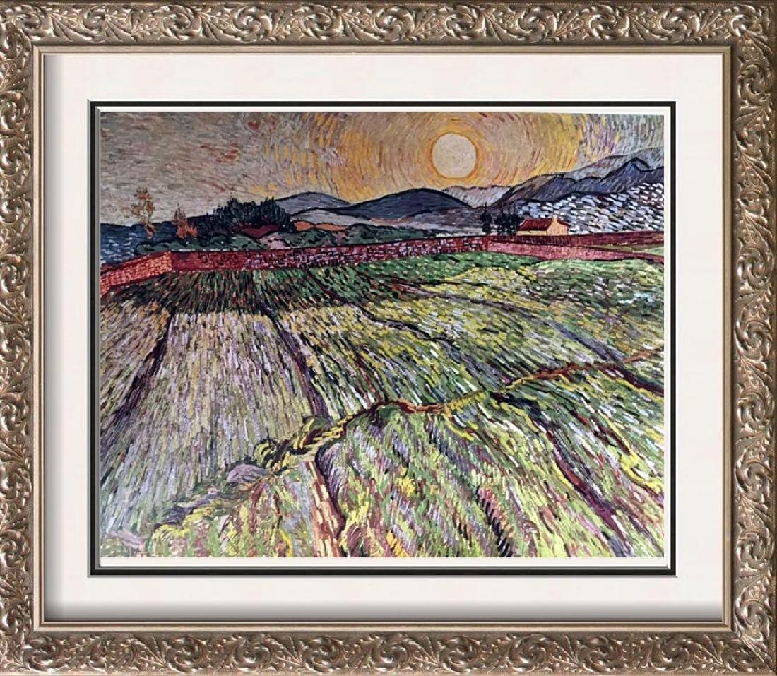 Vincent Van Gogh Landscape with Ploughed Fields c.1889