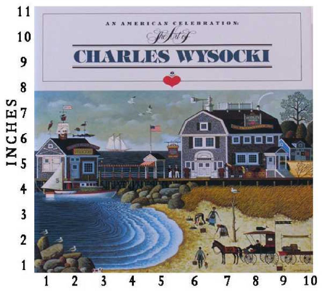 Dealer Liquidating Art Books Charles Wysocki An