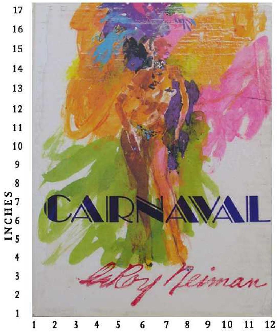 Dealer Liquidating Art Books Leroy Neiman Carnaval 1981