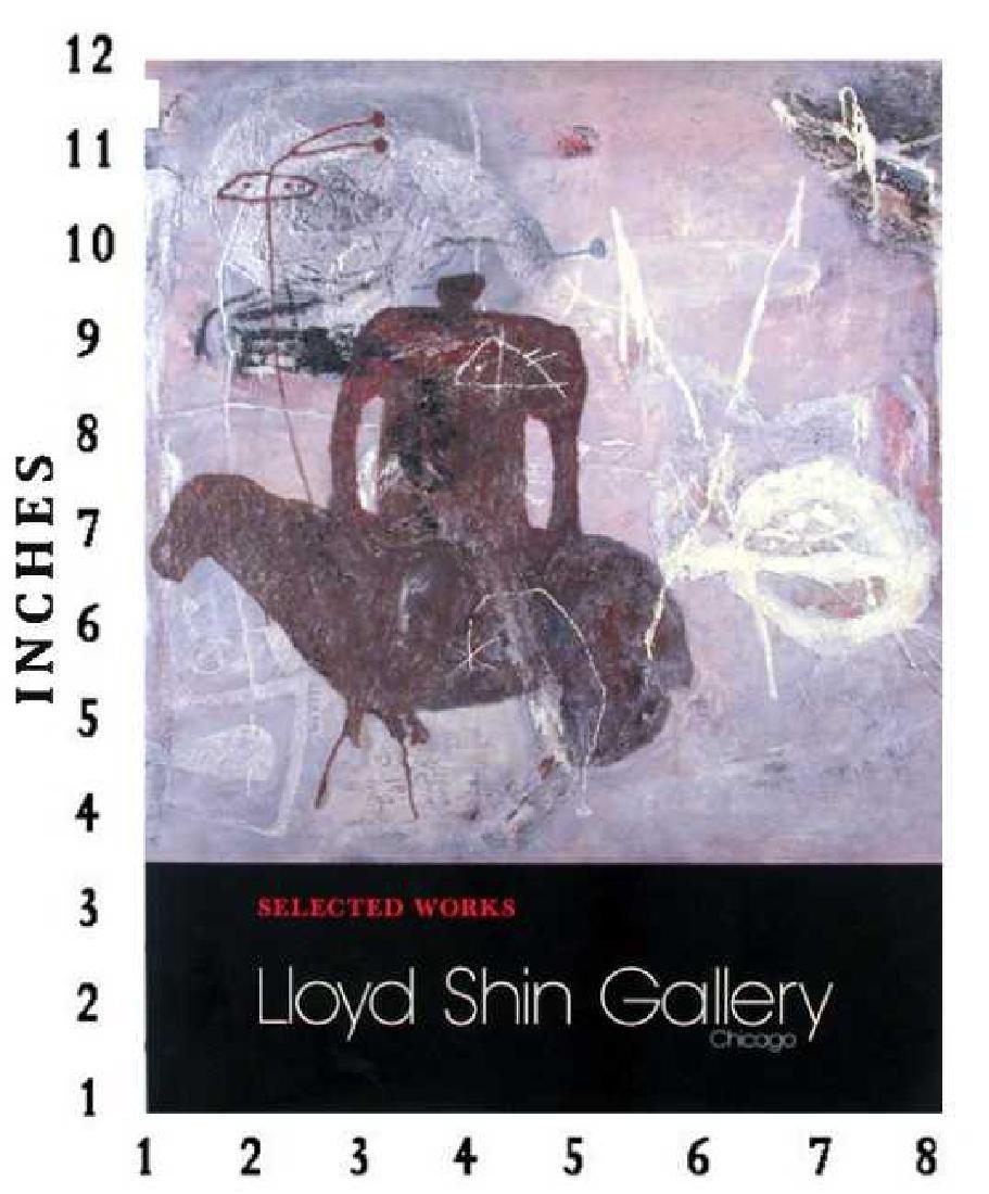 Museum Art Books Selected Works 1990 Lloyd Shin Art