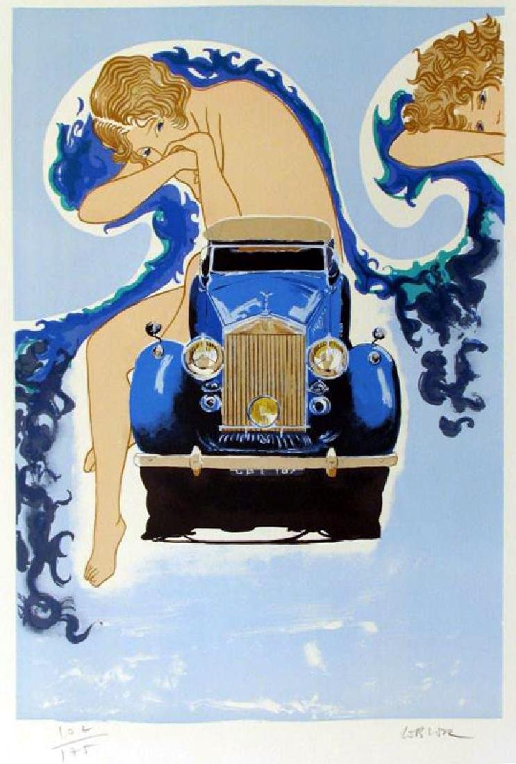 ROLLS ROYCE DECO ART STYLE LIQUIDATION ONLY $25