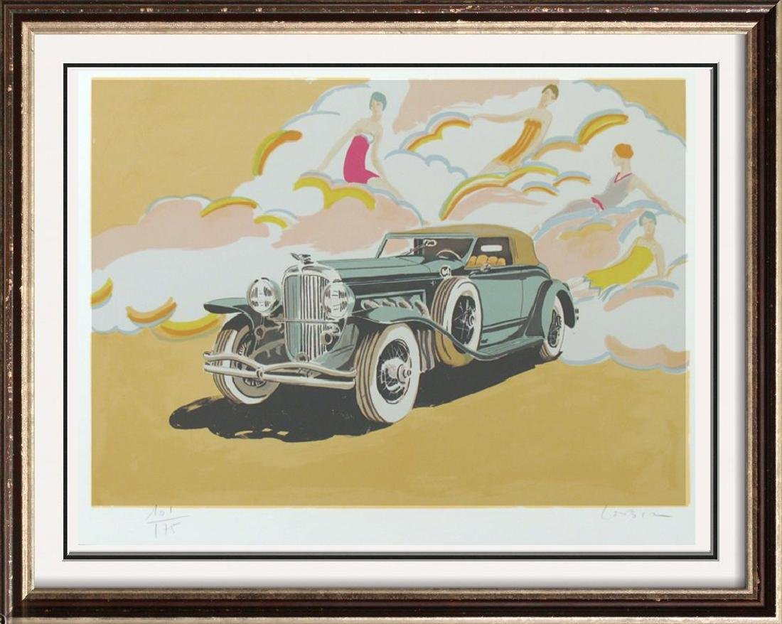 Duesenberg Hand Signed Rare Car Auto Art Limited