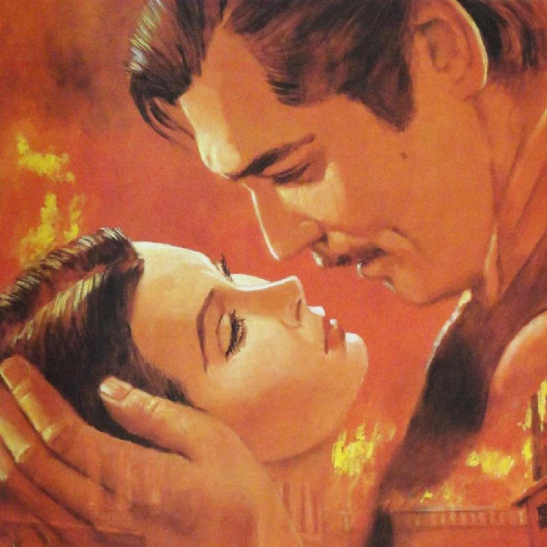 Gone With The Wind Limited Edition Classic Lithograph - 3