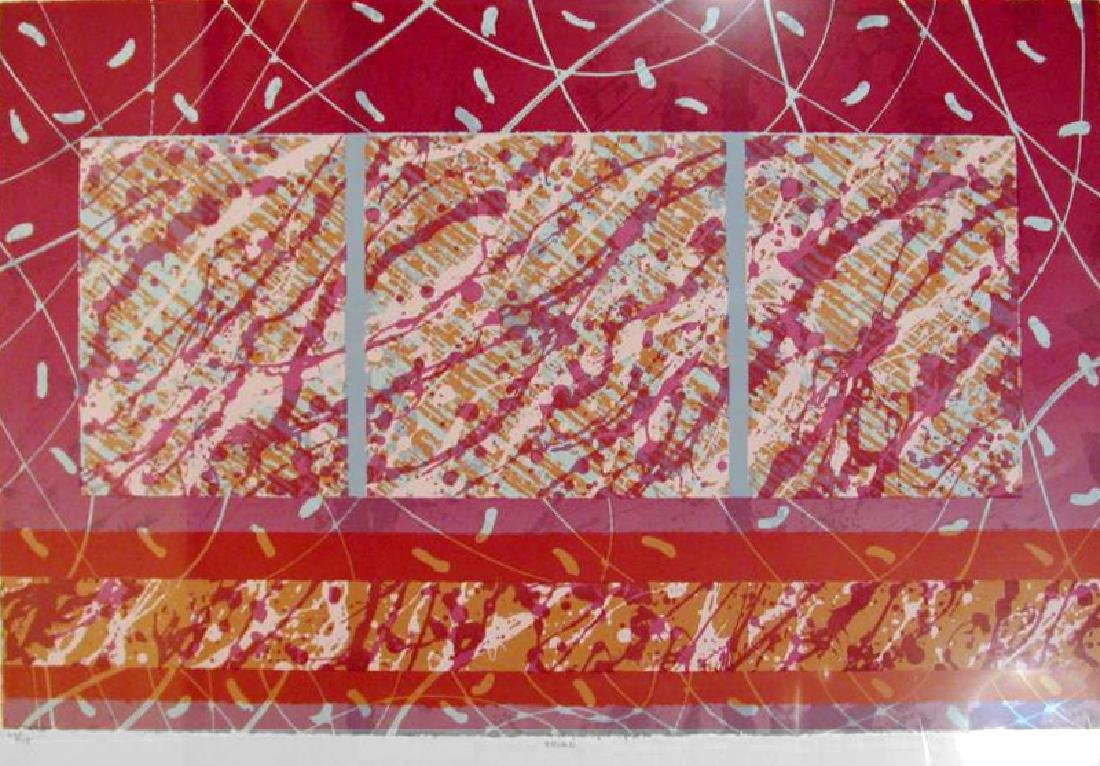 Large Abstract Contemporary Art Ltd Ed Liquidation
