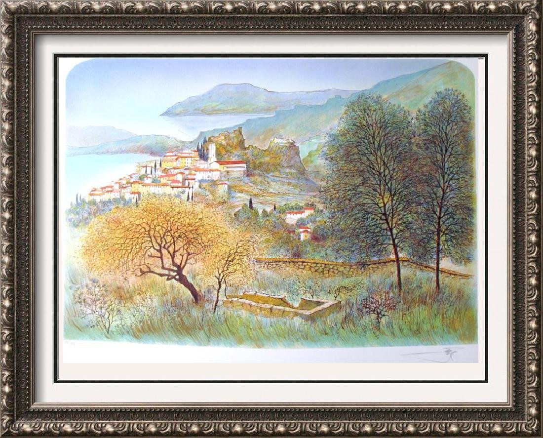 MEDITERRANEAN SCENIC LANDSCAPE LTD ED COLORFUL SALE