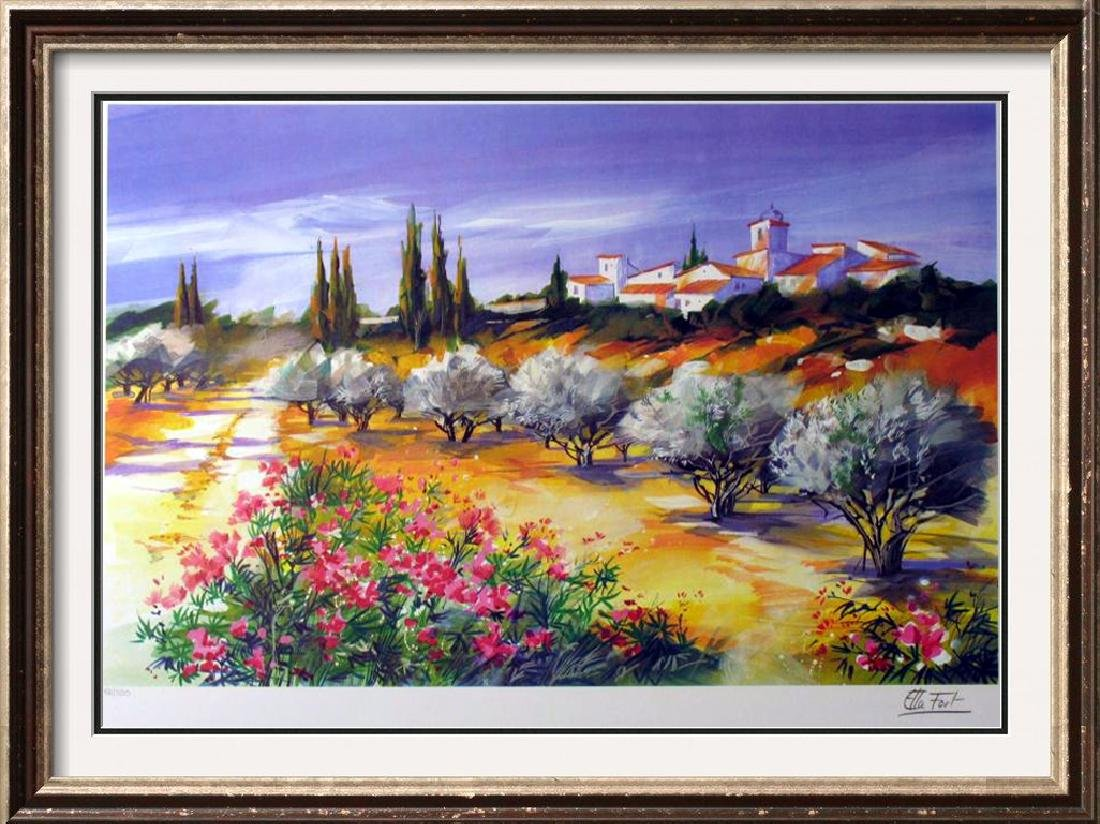 LANDSCAPE COLORFUL LTD ED LIQUIDATION SIGNED