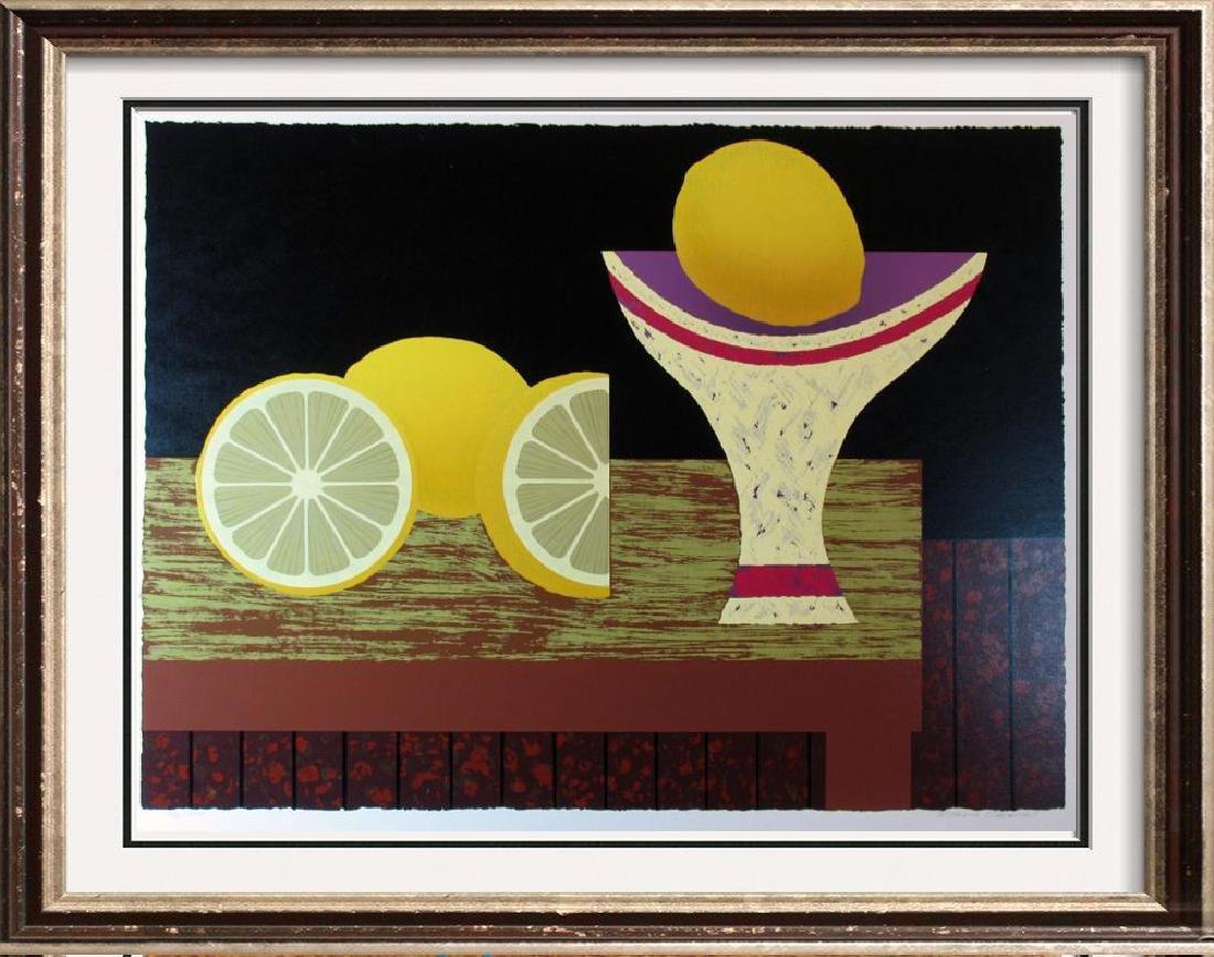 Lemon Abstract Bold Modern Figurative Dealer Sale