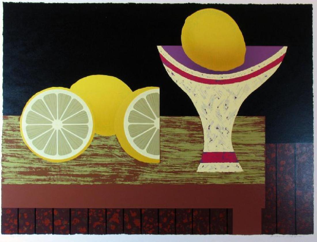Lemon Abstract Bold Modern Figurative Dealer Sale - 2