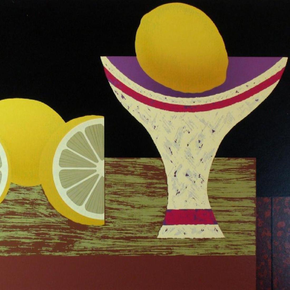 Lemon Abstract Bold Modern Figurative Dealer Sale - 3