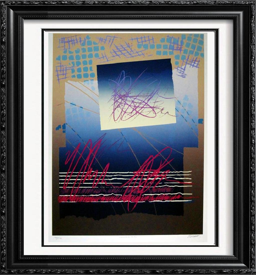 Colorful Abstract Modern Hand Signed Ltd Ed Serigraph