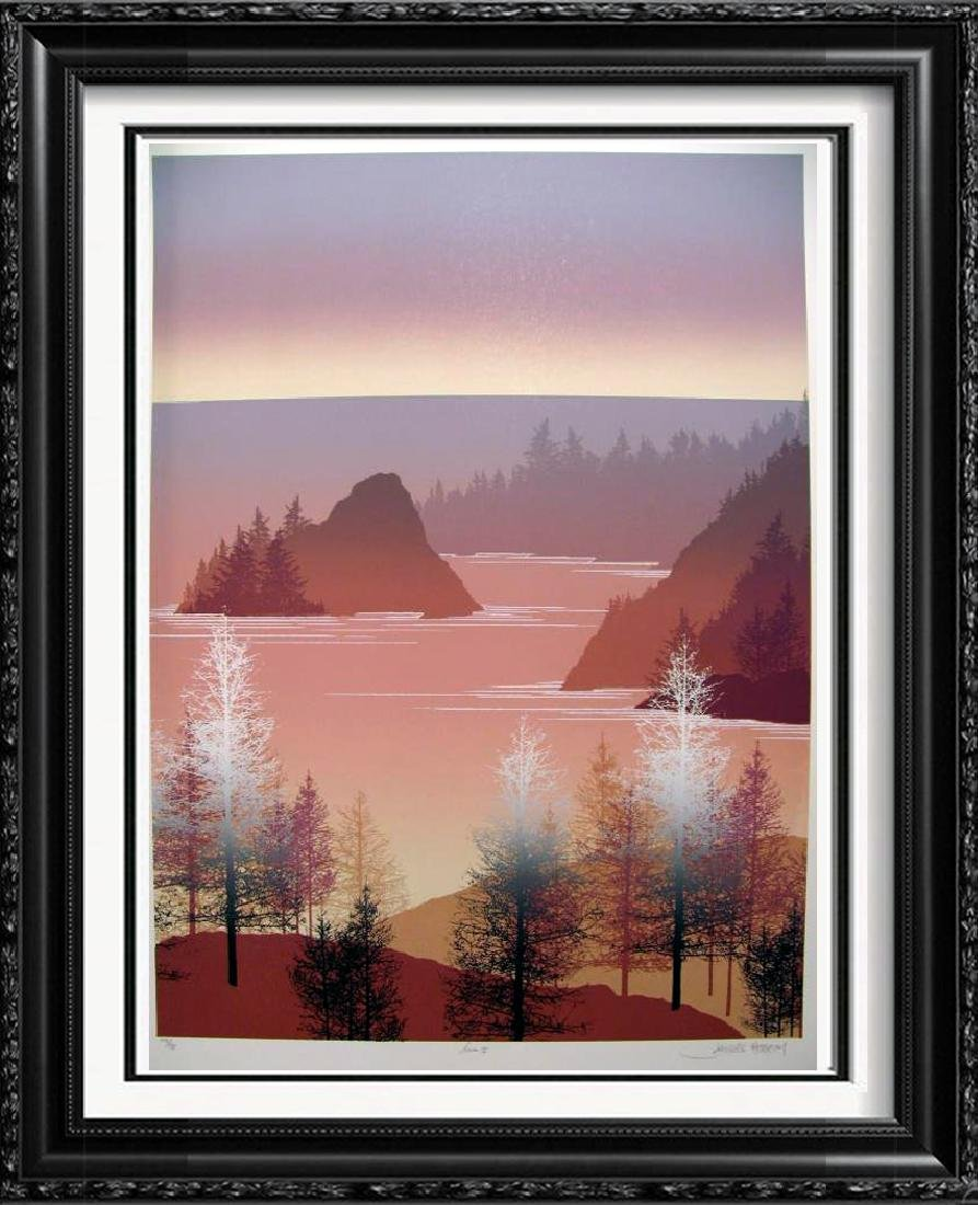 Mountain Abstract Scenic Ltd Ed Wholesale Great Price