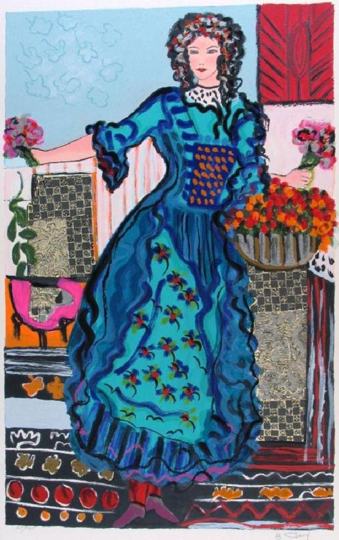 Israeli Artist Bracha Guy Tarkay Style Ltd Ed $75 - 2