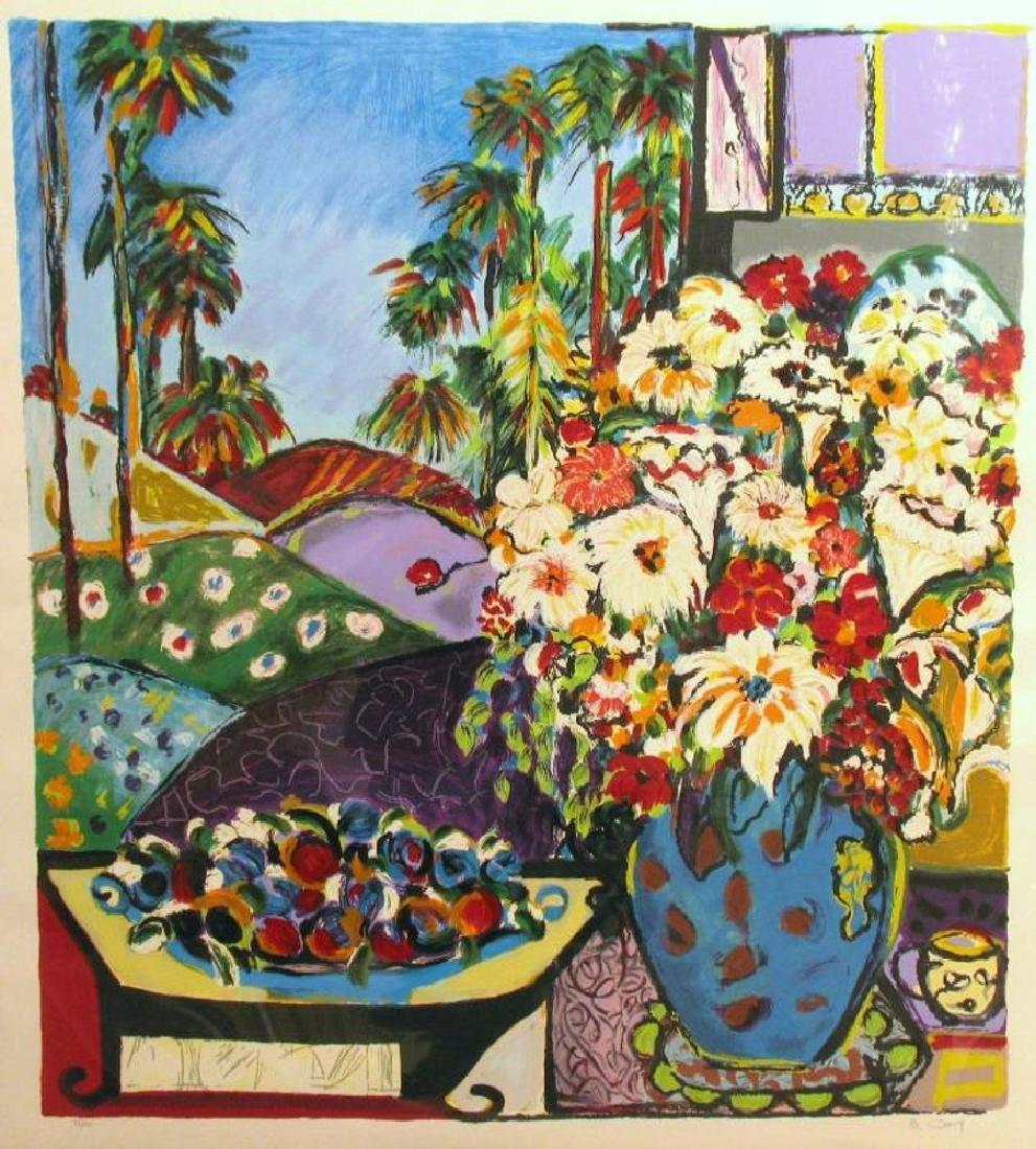 Bracha Guy Israeli Art Large Sold Out Ltd Edition - 2