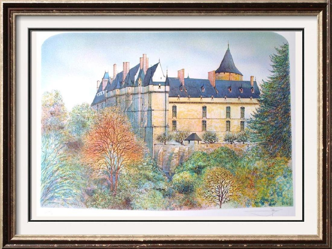 EUROPEAN CASTLE COLORFUL SIGNED LTD ED SALE