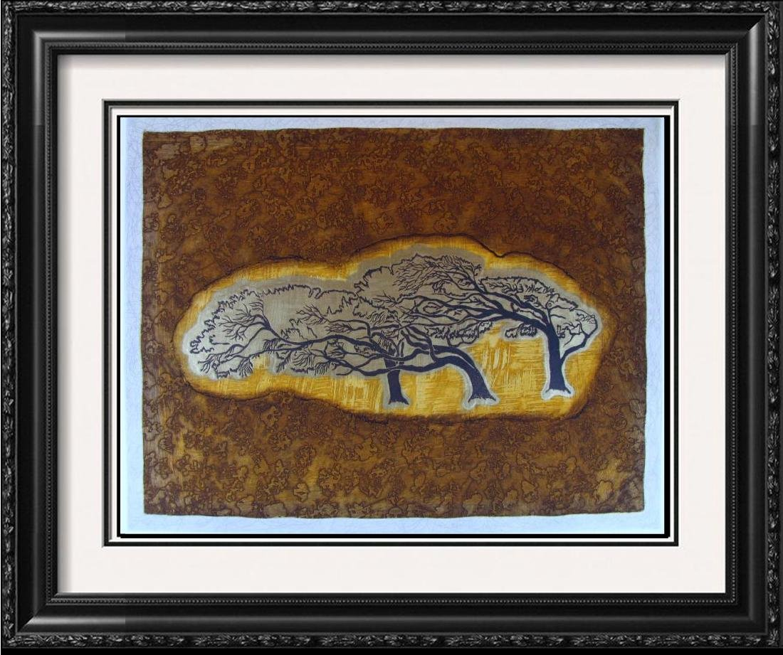 Signed Etching Abstract Ltd Ed Great Price