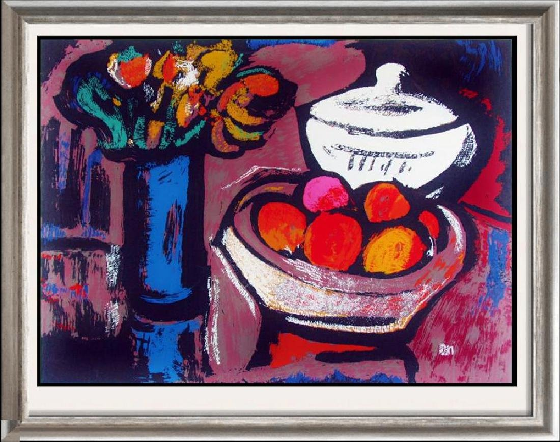 Beautiful Still Life with Fruit Contemporary Limited