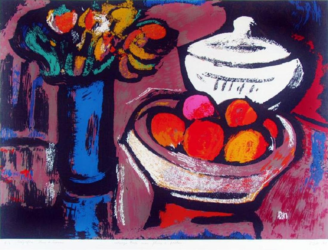 Beautiful Still Life with Fruit Contemporary Limited - 2