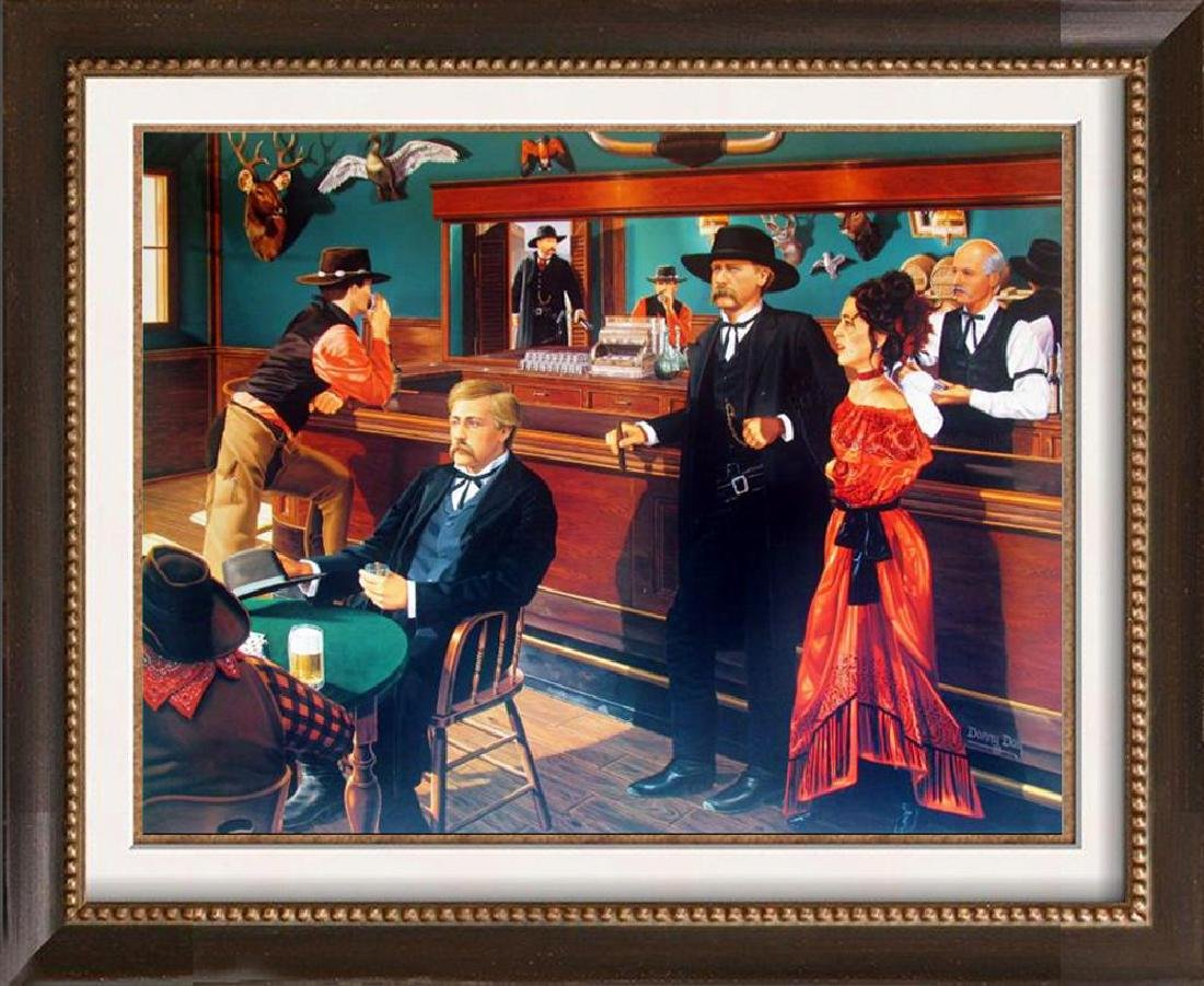Western Rare Danny Day Hall of Fame Artist Litho Signed