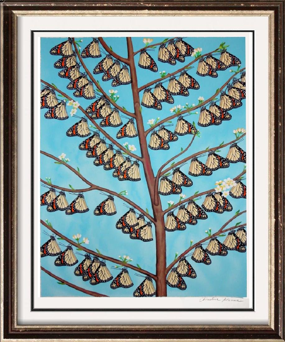 Butterfly Family Avenue Signed Limited Edition
