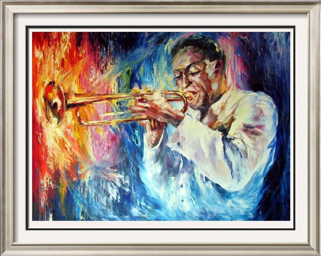 Miles Davis Musician Original Painting Canvas Sale