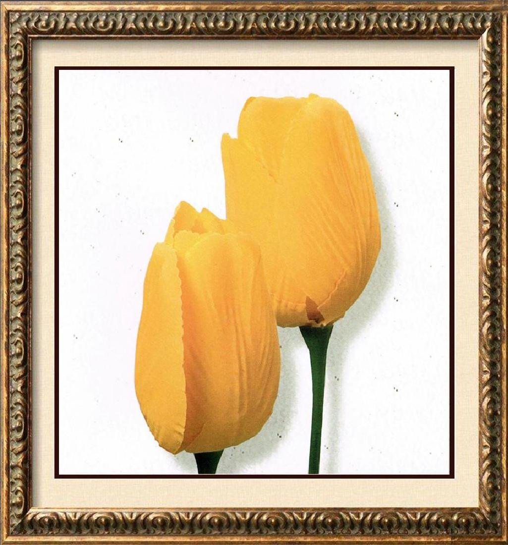 Yellow Tulip Canvas Beautiful Modern Floral Giclee