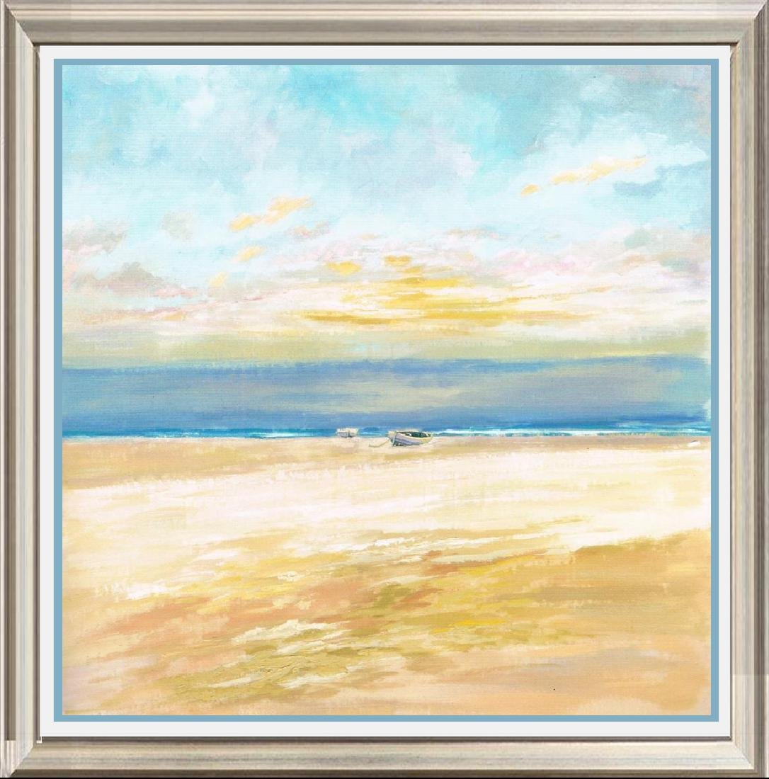 Neum Collection Serenity Beach Giclee on Canvas  57 x