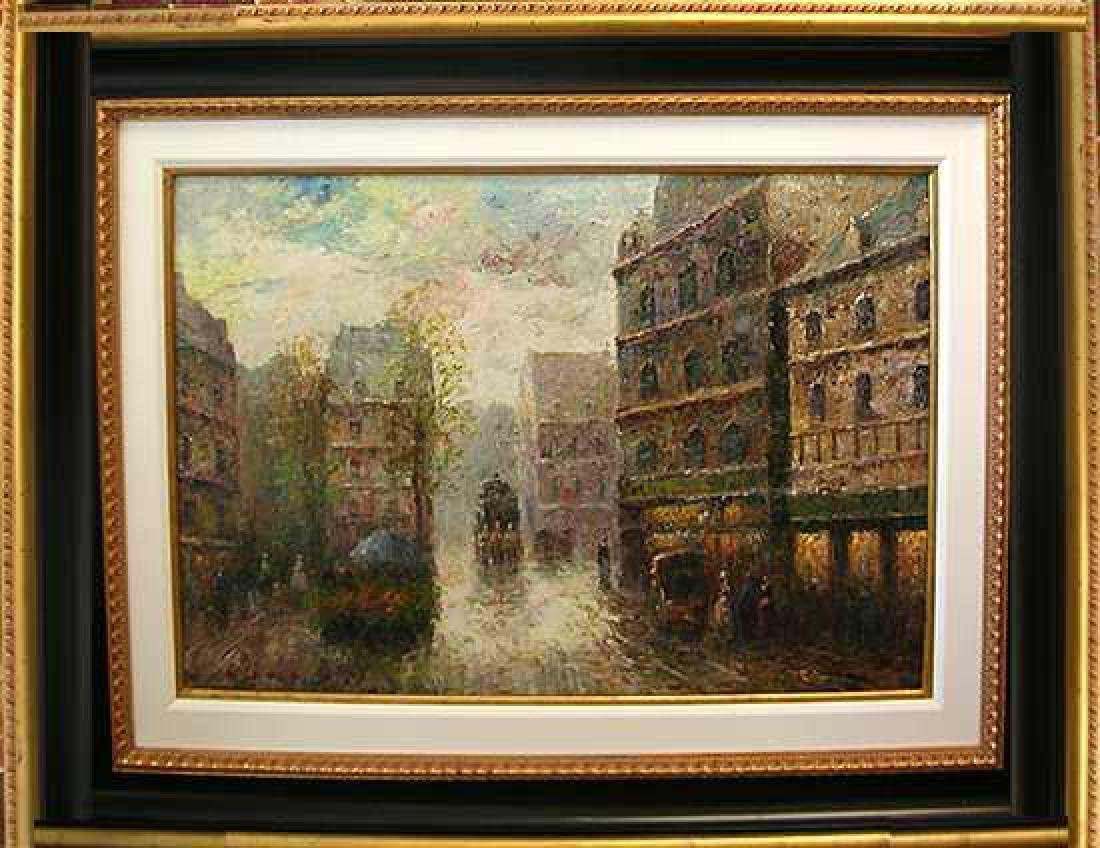 Paris St Impressionism FINE ART PAINTING Canvas