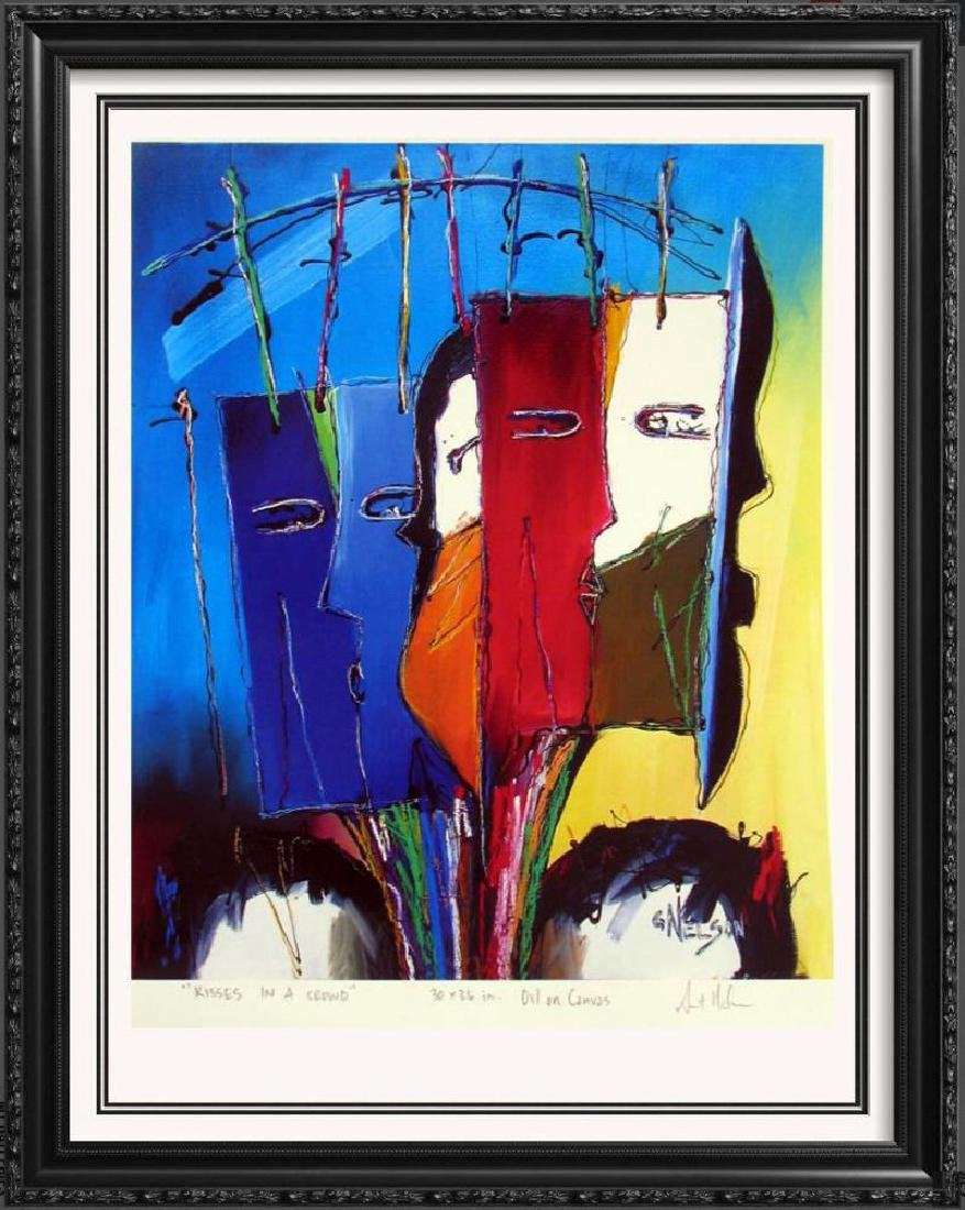 Abstract Modern Art Print Lithograph Sale