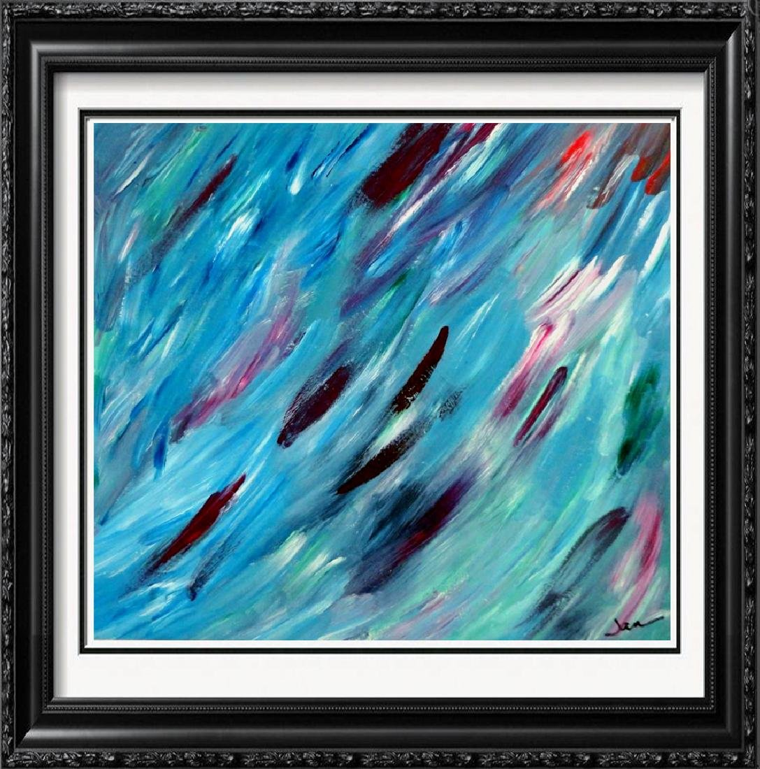 Fantastic Original Textured Mixed Media Modern Abstract