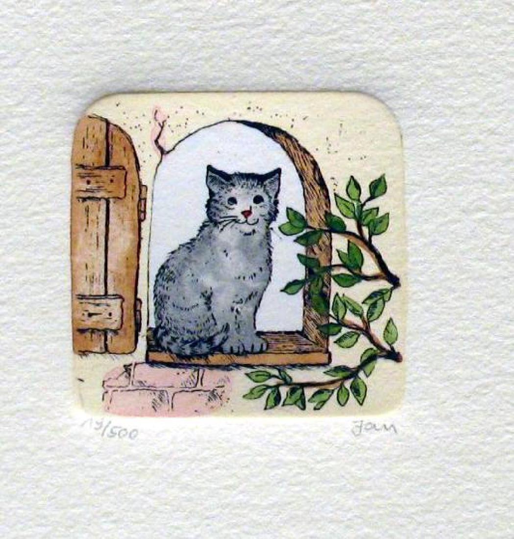 Original Colored Etching Cat Series Buy 3 Get Free - 3