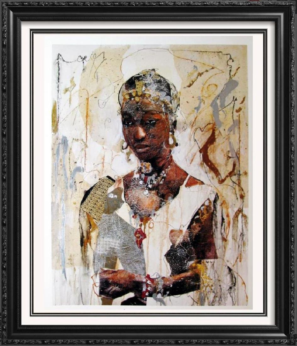 African Headdress Figures & Portraits 1996 Printed In