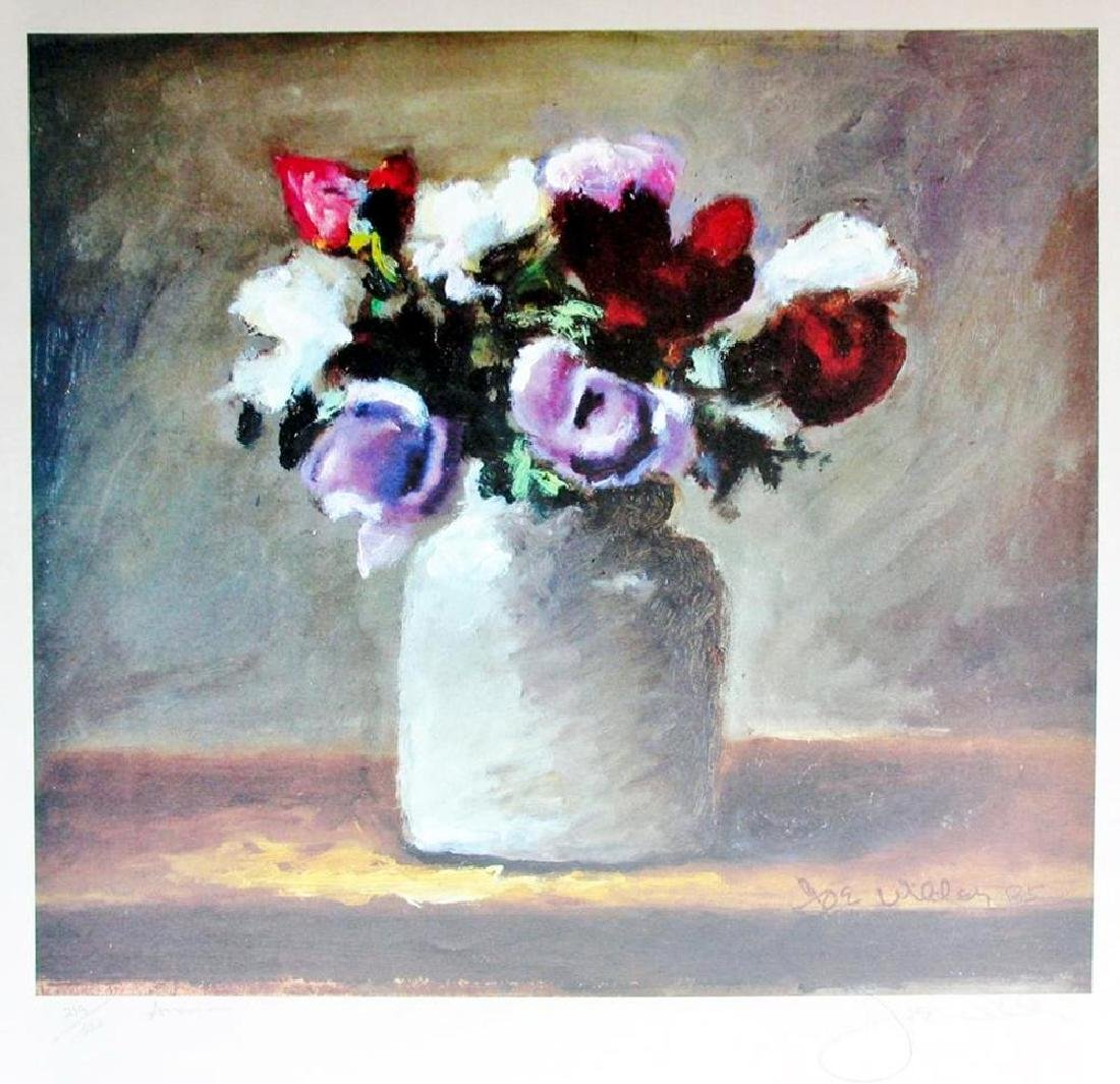 Hand Signed Limited Edition 219/300 Joe Wilder Floral - 2