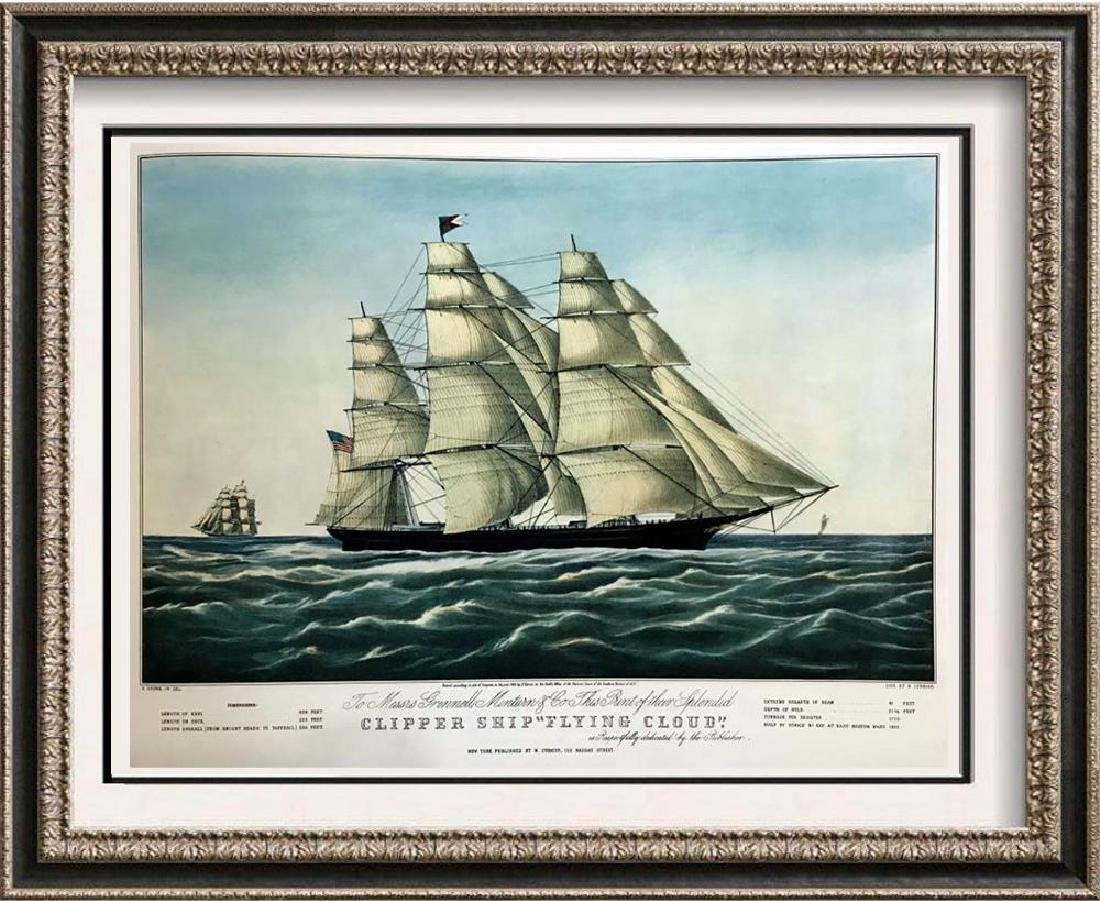 Roy King c.1987 Clipper Ship Flying Cloud The Fastest