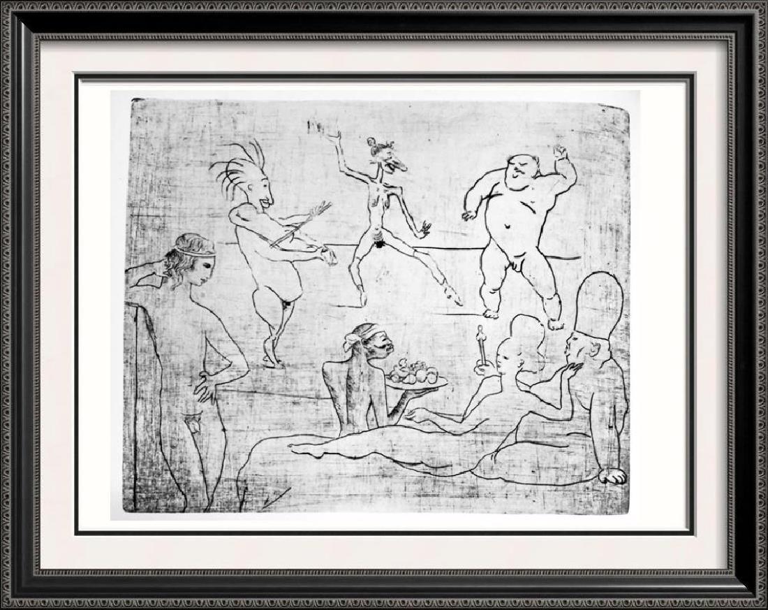 Pablo Picasso 'After'  The Dance c. 1905 Fine Art Print