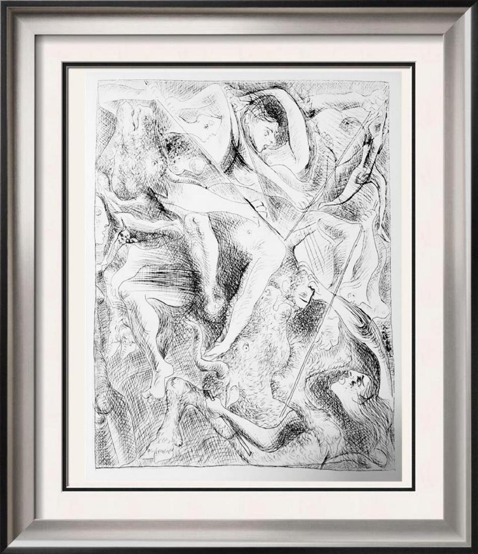 Pablo Picasso 'After'  Death of Orpheus c. 1930 Fine
