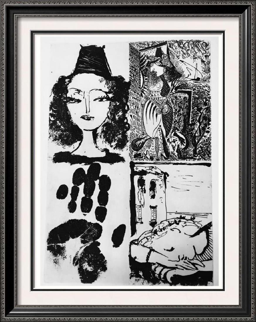 Pablo Picasso 'After'  La barre d'appui c. 1936 Fine