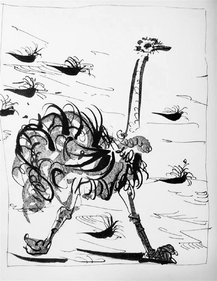 Pablo Picasso 'After'  Ostrich c. 1937 Fine Art Print - 2