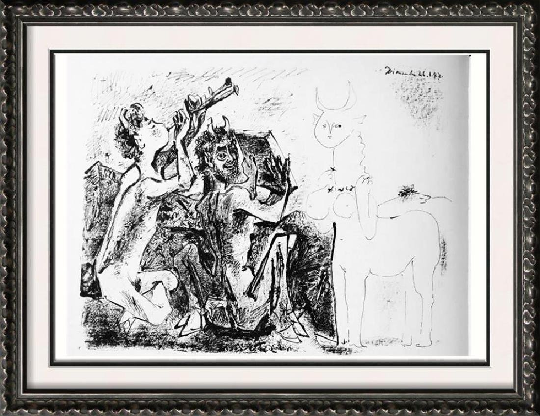 Pablo Picasso 'After'  Fauns and Centauress c. 1947