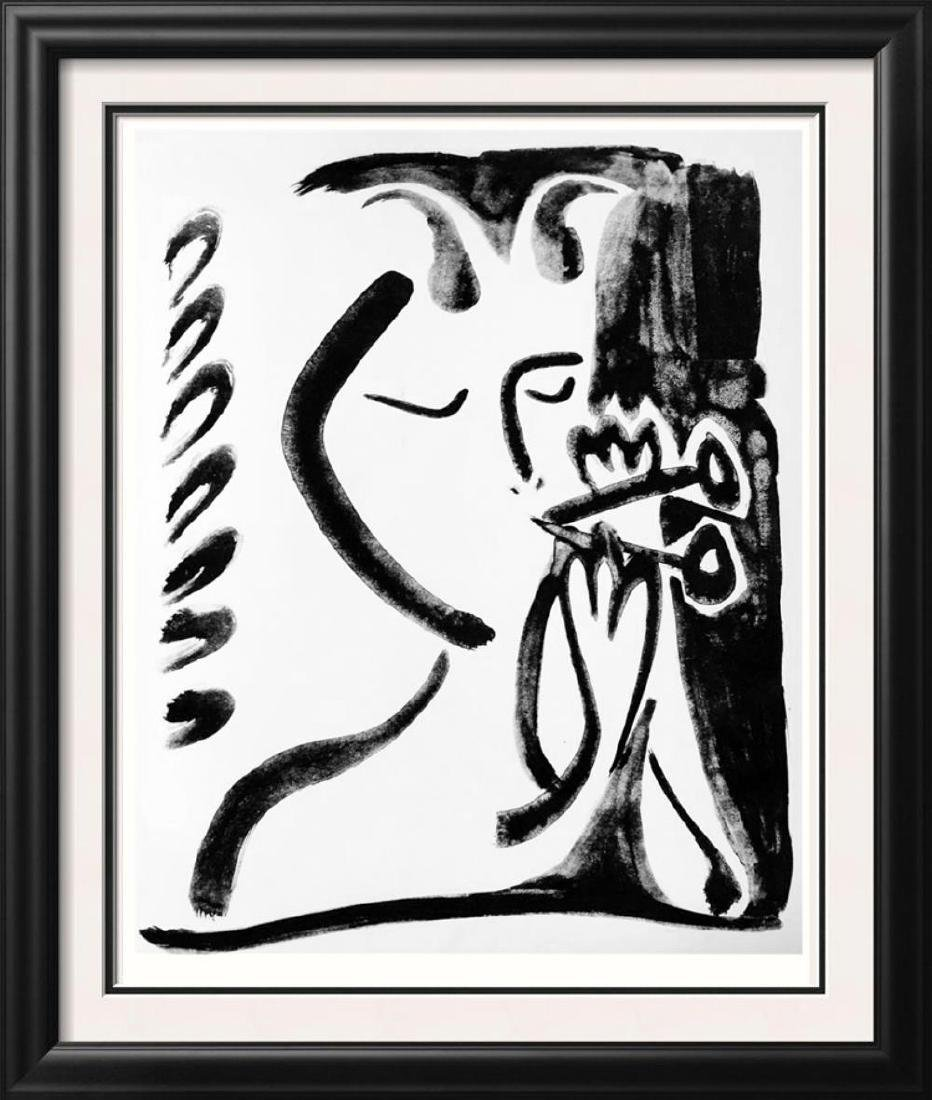 Pablo Picasso 'After'  Musical Faun III c. 1948 Fine